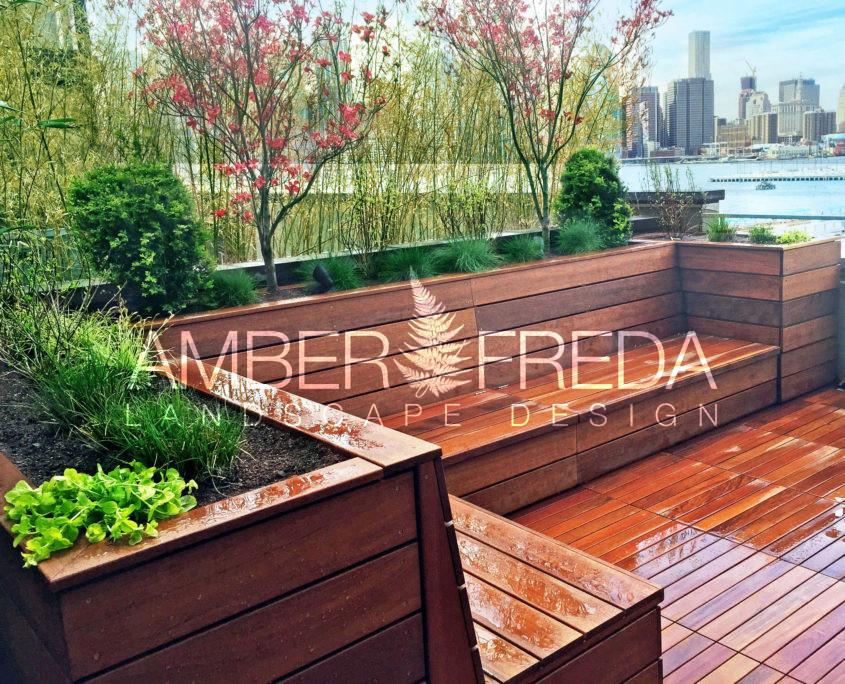 Custom Roof Deck In Brooklyn Heights Has Zen Appeal Amber Freda Landscape Design
