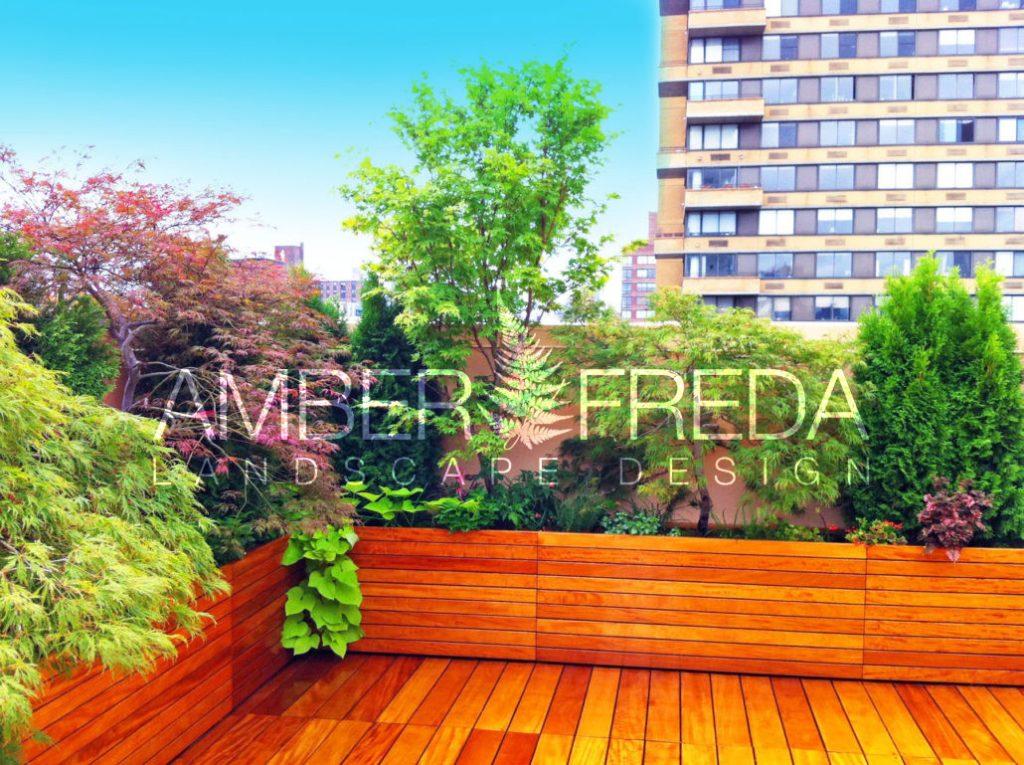 Rooftop Deck Gets Zen Treatment Amber Freda Landscape Design