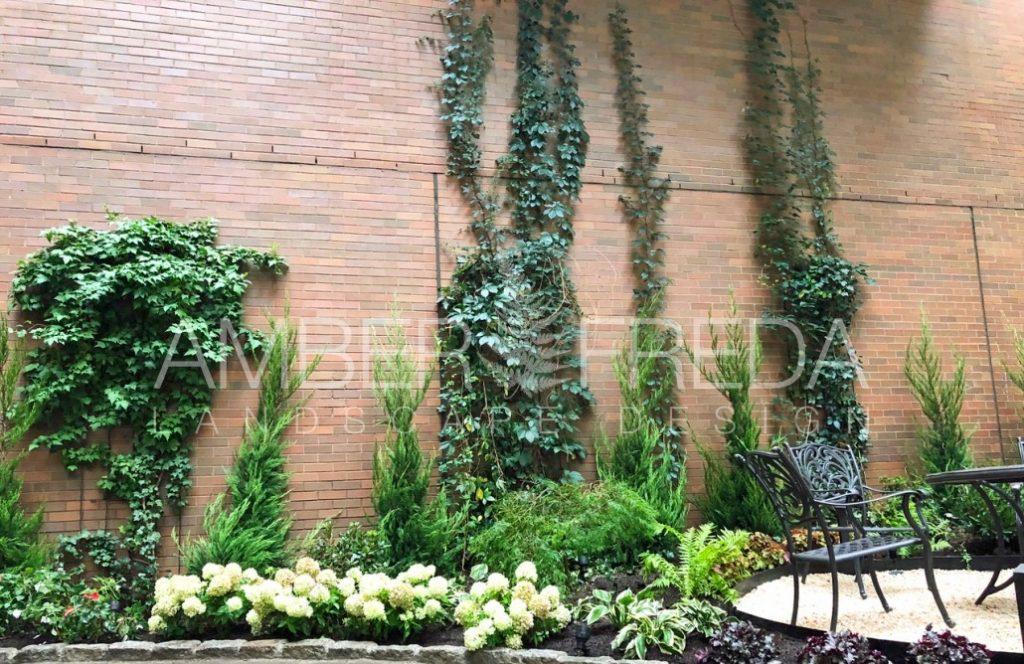 Image of: Battery Park Public Courtyard Renovation Amber Freda Landscape Design