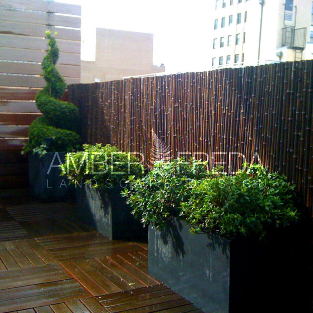 Contemporary Tribeca Roof Deck With Zen Appeal Amber Freda Landscape Design