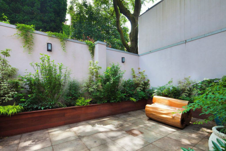 brooklyn heights backyard patio garden
