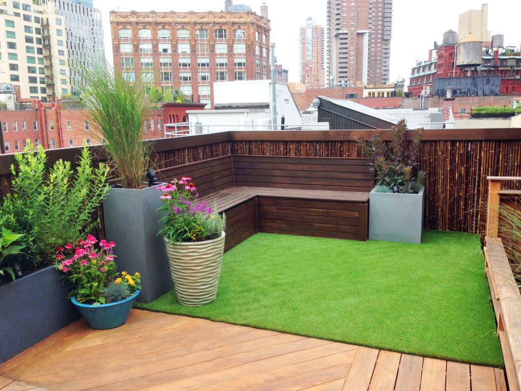 tribeca nyc roof garden design