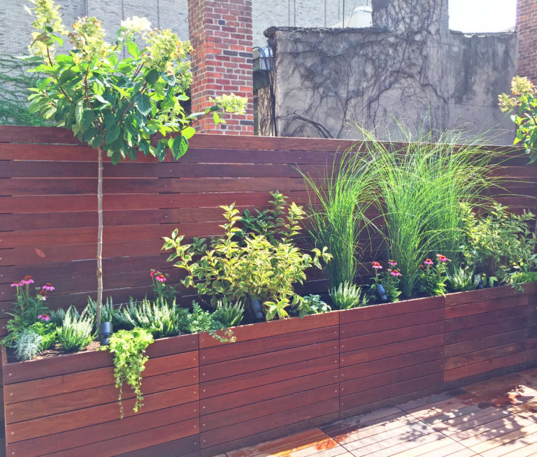 west village roof deck design rooftop garden nyc